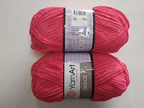 Пряжа для вязания Дольче Yarnart малиновый 759
