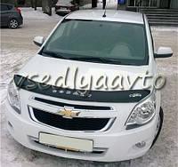 Дефлектор капота мухобойка Chevrolet  Cobalt с 2011 г.в.