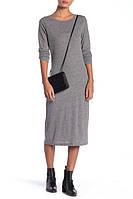 Женское серое миди платье Alternative