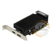 Видеокарта MSI GT1030 (2Gb/GDDR5/64bit/HDMI/DP) GT 1030 2GH LP OC