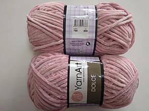 Пряжа для вязания Дольче Yarnart розовый 769