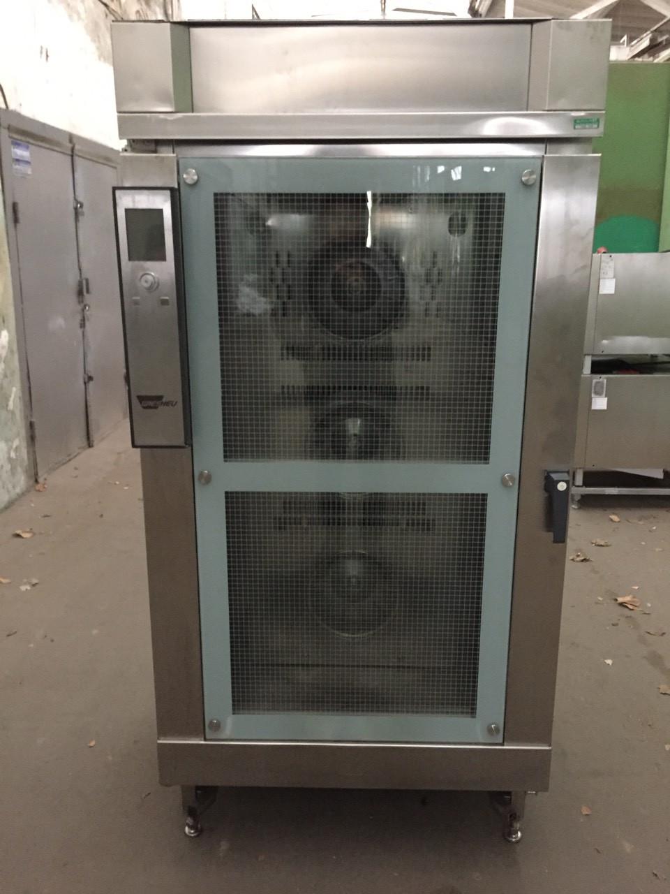 Печь хлебопекарная конвекционная 15 противней Wiesheu B15 IS 600 закатная тележка (Германия)