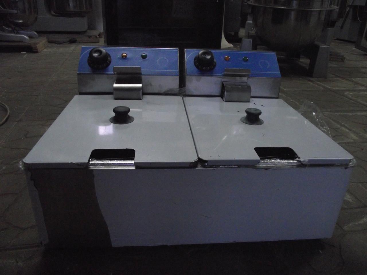 Фритюр (фритюрница) Двойной Vektor DF-6L-2 2x6 литров