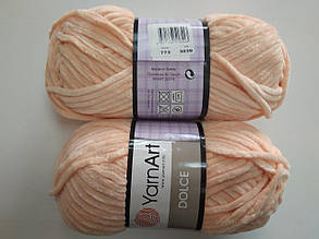 Пряжа для вязания Дольче Yarnart персиковый 773