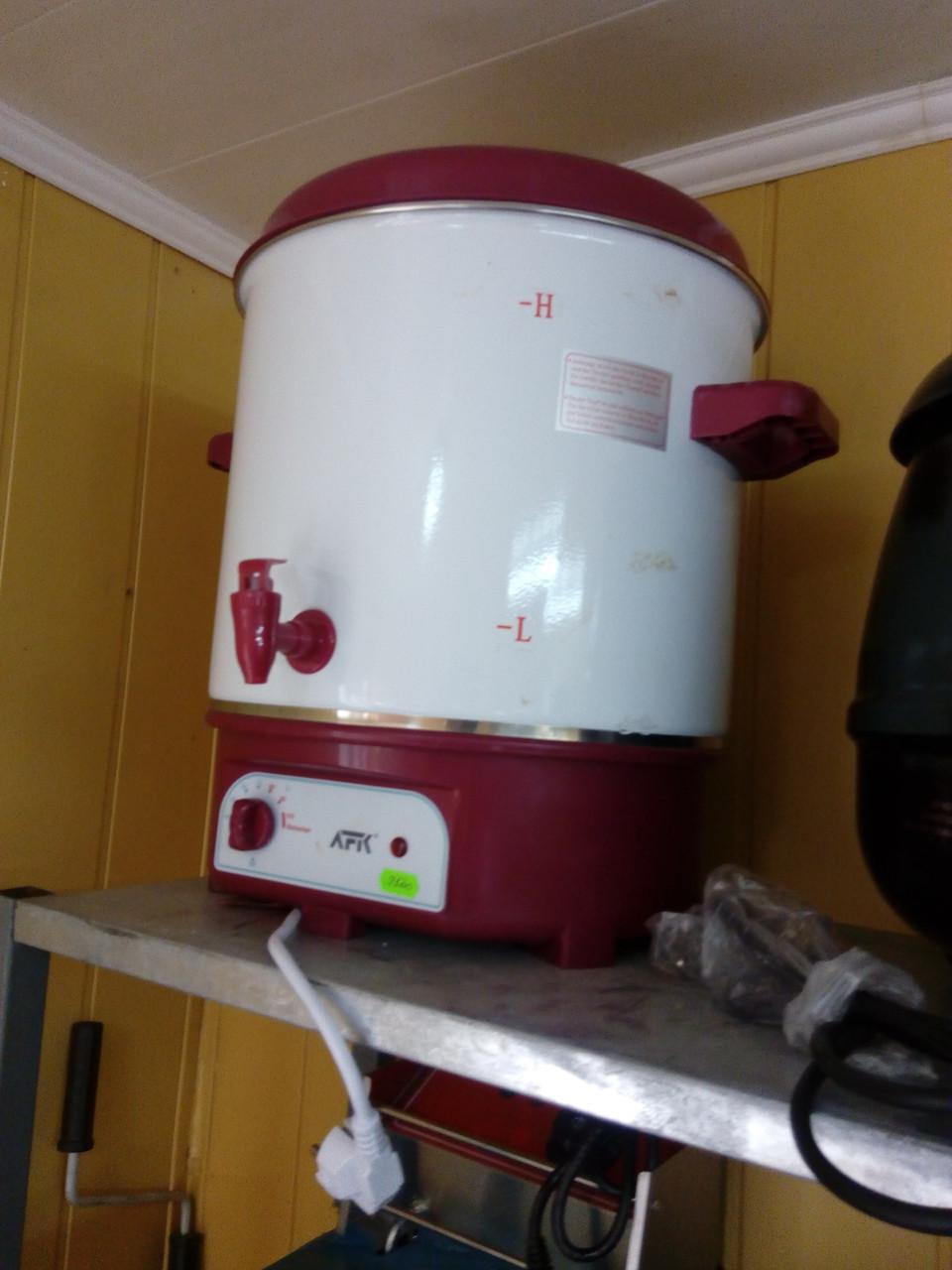 Котел варочный кипятильник чаераздатчик эмаль 25 литров AFK WWS-25.1 (Германия)