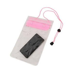 Водонепроницаемый чехол для гаджетов, розовый