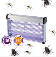 Электрическая ловушка от комаров AKL-40, 3х20Вт G13, 120м2
