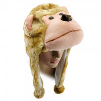 Шапка маска Обезьяна, Шапки Маски животных и любимых персонажей, Шапки Маски тварин і улюблених персонажів