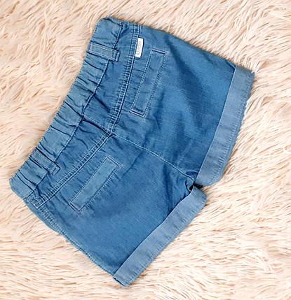 Шорты джинсовые на девочку летние ТМ Бемби (Украина) 86, фото 2