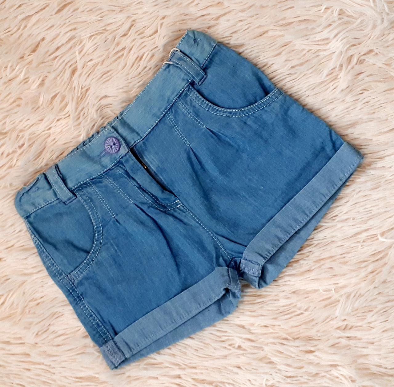 Шорты джинсовые на девочку летние ТМ Бемби (Украина) 86