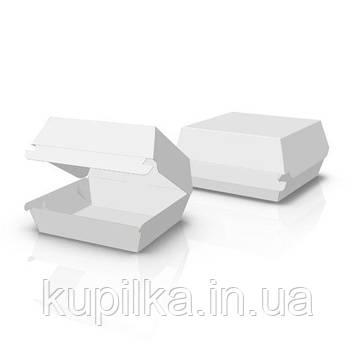 """Упаковка для бургеров """"Мини"""" белая"""