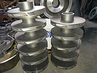 Запасные части к насосу ПЭ270-150-3(рабочие колеса, направляющие аппараты, секции, диск)