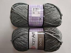 Пряжа для вязания Дольче Yarnart серый 760