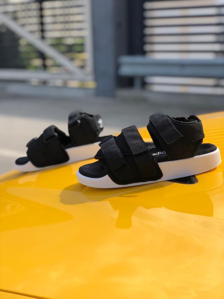 """Женские сандали Adidas Adilette Sandal """"Black""""  ( в стиле Найк )"""