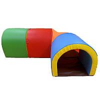 Детский тоннель Ход конем, 4 секции