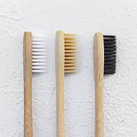 Деревянная зубная щетка, бамбуковая зубная щетка