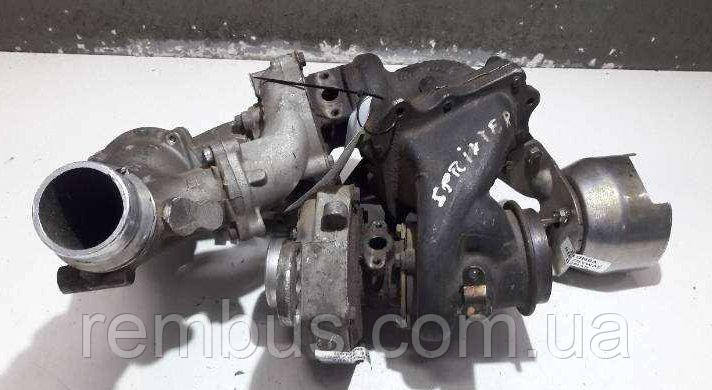Комплект турбины (BI-TURBO) MB Sprinter W906 2.2CDI OM651