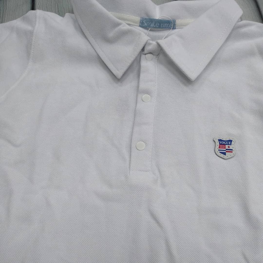 244466999fae Рубашка-поло белая длинный рукав: продажа, цена в Запорожье. рубашки для  мальчиков ...