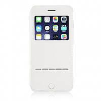 Чехол-книжка G-Case для Apple iPhone 8 Plus/7 Plus White (PC-002186)