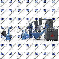 Полный цикл гранулирования (мини завод для производства пеллет), фото 1
