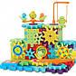 Детский развивающий конструктор 3D Funny Bricks Magic Gears 81 деталь + powerbank 2600 mAh, фото 6