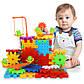 Детский развивающий конструктор 3D Funny Bricks Magic Gears 81 деталь + powerbank 2600 mAh, фото 9