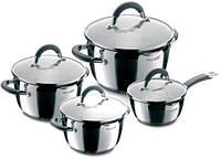 Набір посуду RONDELL RDS-040 Flamme 1,3л+2,3л+3,2л+5,7л 8 предм. Flamme (ST) (RDS-040) (RDS-040)