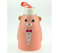 Термобутылка  Gentle Bear розовая ( бутылка медвежонок ), Термосы, термокружки, фляги, Термоси, термокружки, фляги