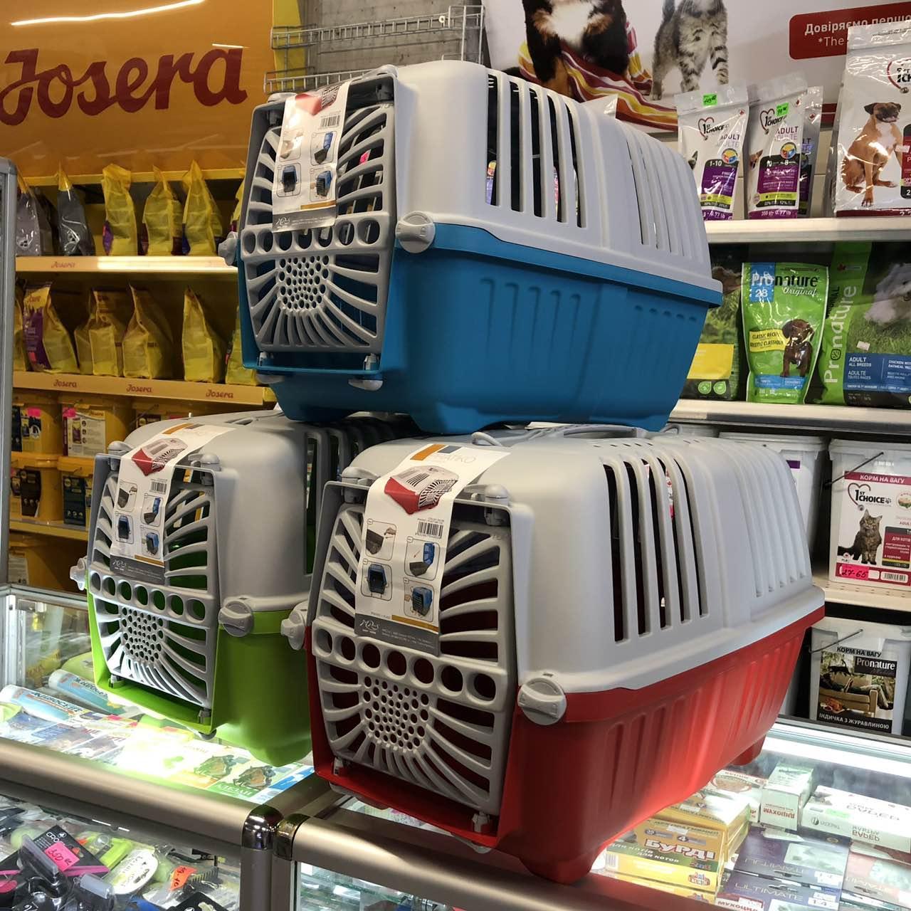 Переноска, контейнер для котов и собак PRATIKO 1 plast. 48*31.5*33 h