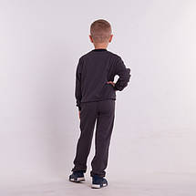 Детский прогулочный костюм из трикотажа для мальчикаСпортивный костюм на мальчика, фото 3