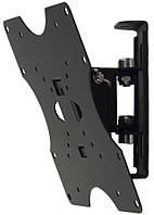 Кронштейн Квадо К-40. Наклонно-поворотное настенное крепление для ТВ с VESA до 200х200мм