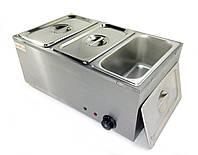Мармит BM3 на 3 гастроемкости профессиональный электрический для линии раздачи пищи с подогревом