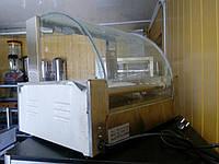 9 роликов Гриль роликовый для сосисок, хот-догов с защитным стеклом VEKTOR EH-209