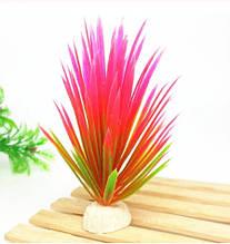 Рослини штучні в акваріум - довжина 13см, пластик