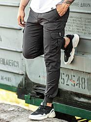 Карго мужские брюки BEZET BASIC DARK IRON '19