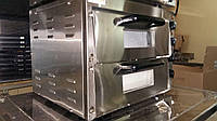 Печь для выпечки пиццы 4+4х20 GoodFood PO2 для кафе (оборудование для производства пиццы)