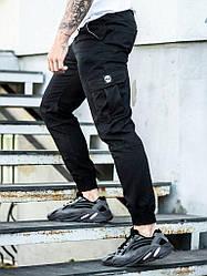 Мужские брюки карго  BEZET BASIC BLACK '19