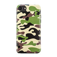 Чехол Frank для iPhone 6/6s Woodland Camouflage Derert Light ( 93075)
