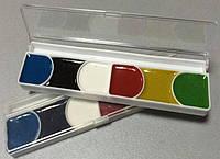 Краска акварельная, медовая, на 6 цветов, 10шт / упак., ТЕ298