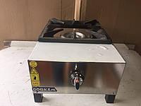 Газовая плита промышленная 1-х конфорочная Görkem SGO 10 профессиональная для общепита (для кафе и ресторанов)