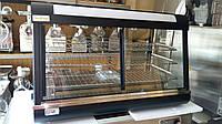 Витрина тепловая до 110 градусов профессиональная для выпечки, идеальные размеры под выпечку