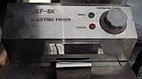 Фритюр Фритюрница электрическая со сливным краном  Rauder JEF-8K (8 литров), фото 4