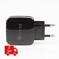 Сетевое зарядное устройство Qualcomm Quick Charge 3.0 Black
