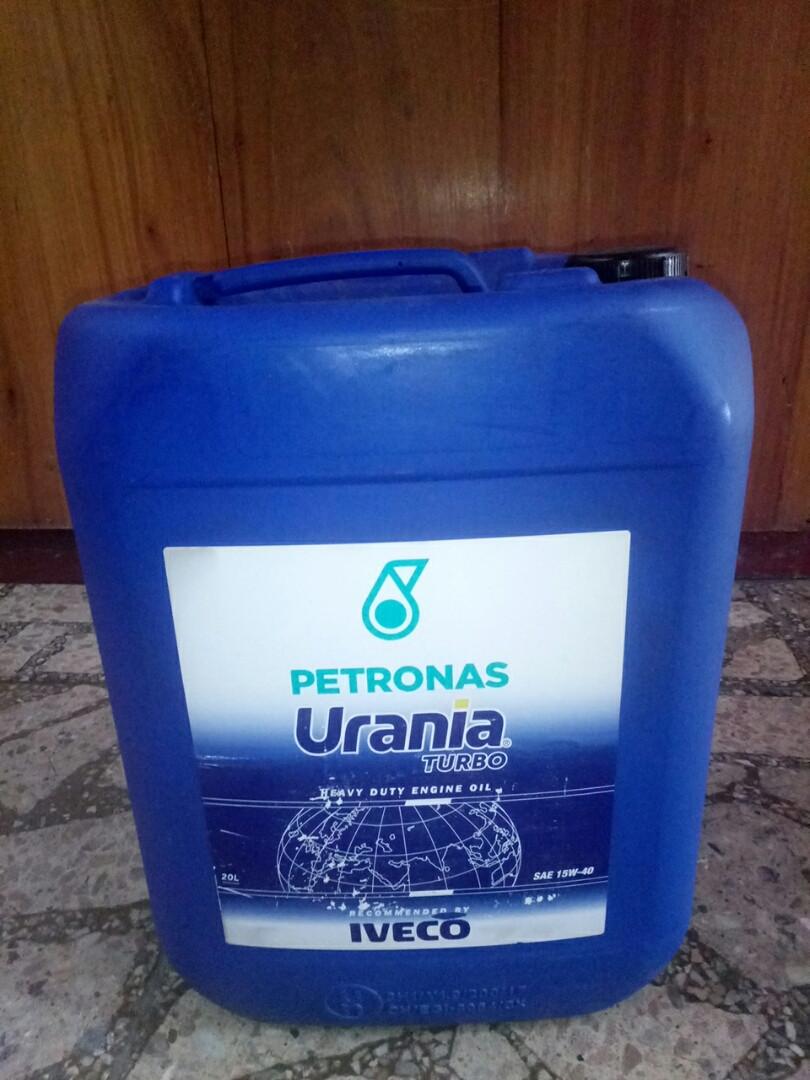 Масло моторное Urania Turbo 15W40 (20L) 13321900