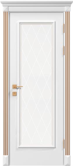Двери Родос Siena Asti RAL стекло, RAL + патина