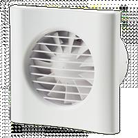 Вентилятор осевой Домовент 100 тиша, вытяжной, мощность 8Вт, объем 90м3/ч, 220В, гарантия 2года