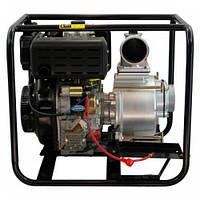 Мотопомпа дизельная Grunfeld HP100DTPE (10 л.с., 1580 л/мин)