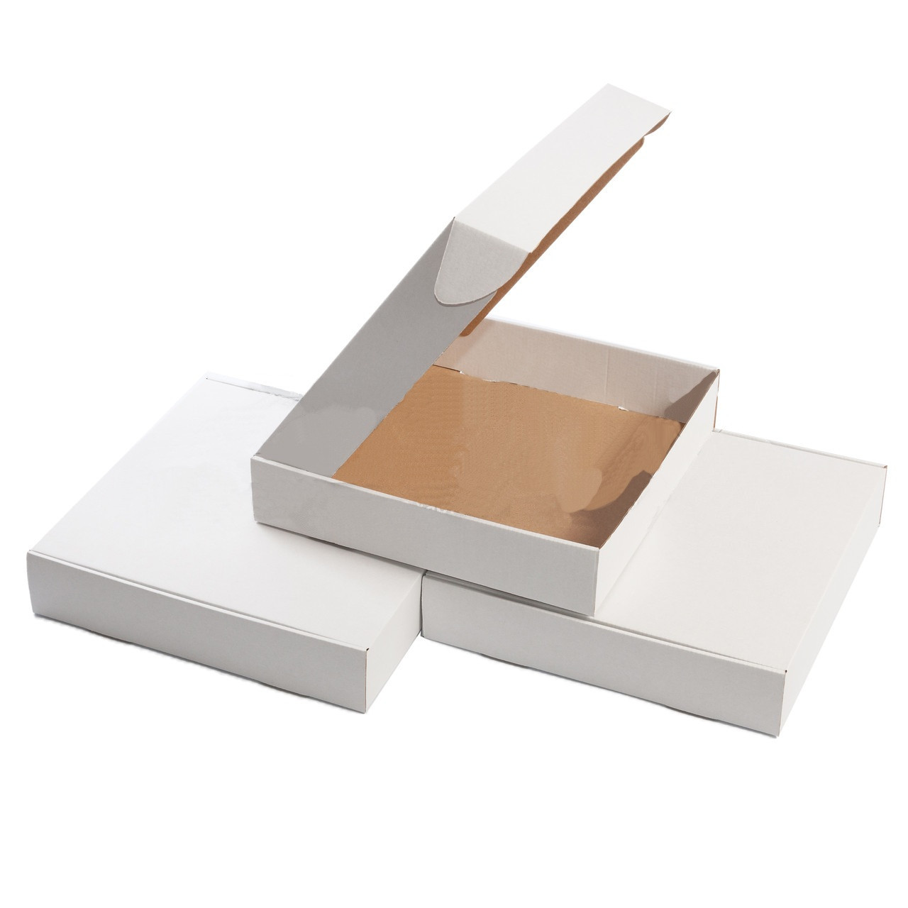 Картонная упаковка 300х300х60,  мм. белая