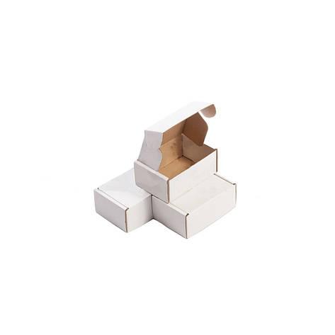 Картонная упаковка 155*110*55 мм. белая, фото 2