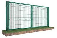 Распашные ворота с задвижкой под навесной замок Лайт H-1480 мм x L-3000 мм 1680